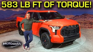 2022 Toyota Tundra: If a Prius, a Land Cruiser and an F150 had a baby . . .