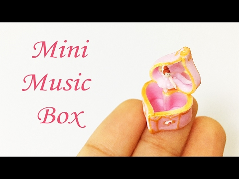 Miniature Music Box Tutorial Polymer Clay