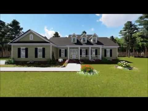 RANCH HOUSE PLAN 348-00063
