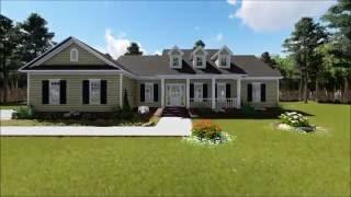 Ranch House Plan 348-00063