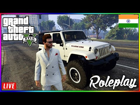 JEEP WRANGLER | GTA 5 LEGACY ROLE PLAY INDIA | Sponsor @ Rs.59