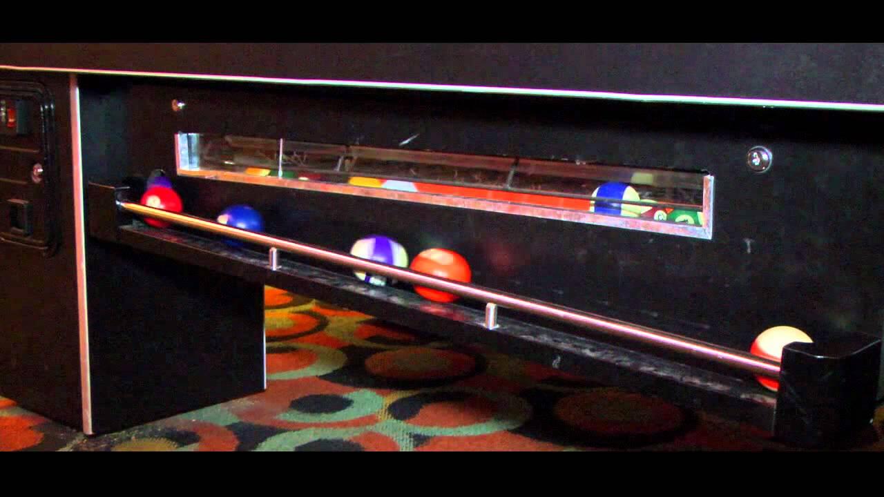 Master Pool Table Arcade And Bar Pool PrimeTime Amusements YouTube - Master pool table