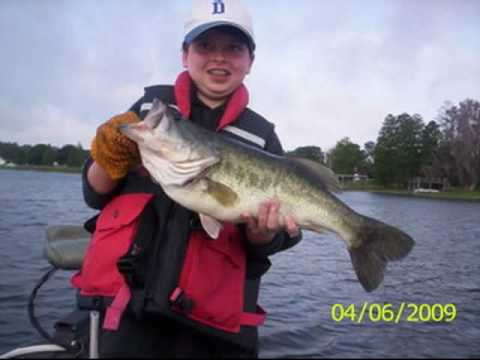 Bass fishing orlando disney world area youtube for Bass fishing orlando