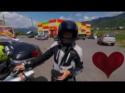 Горно-Алтайск   Акташ на мотоцикле.  Дорога в Монголию.  День 8