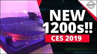 CES 2019 | New Technics SL-1200 MK7 & SL-1500C Turntables!