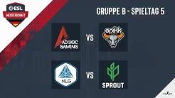 AHG vs. EPIKK & NLG vs. Sprout - ESL Meisterschaft 2020 - Season 1 - Spieltag 5.3