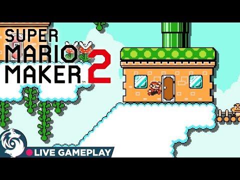 Viewer Levels (Finally) - Super Mario Maker 2 Gameplay Livestream
