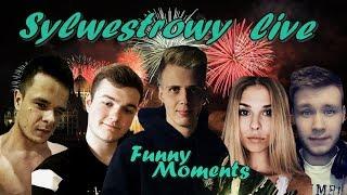 Nitro - Sylwestrowy Live (Funny Moments) Ft. Miszczu, Pevor, Sandra, Takefun