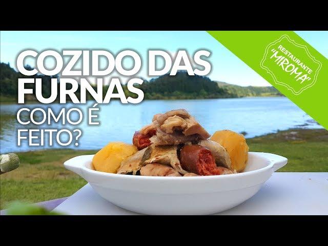 Cozido das Furnas, como é feito? Furnas, São Miguel - Açores