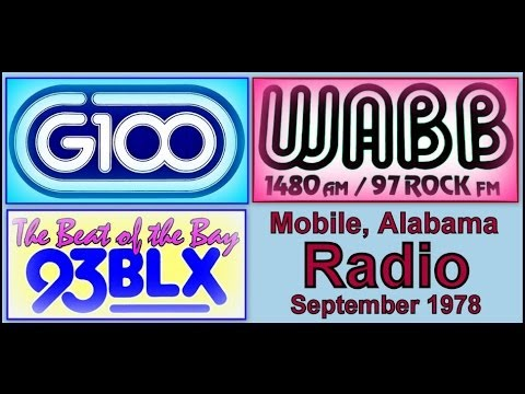 Mobile, Alabama Radio Stations, September 1978: 32:09: PART ONE