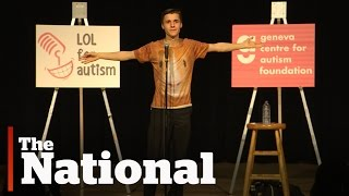Stand-up comic mines Asperger syndrome for laughs