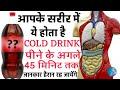 सावधान! कोल्ड ड्रिंक पिने से हो सकती है आपको यह खतरनाक बीमारियाँ | Effects of Cold Drinks