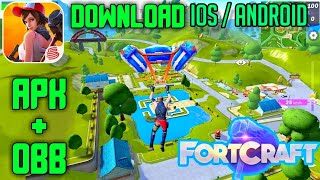 How to Download FORTCRAFT For Android latest version,Fortnite Clone Android game,Fortcraft Full game
