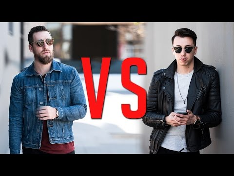 Denim vs Leather Jackets: Which is More Bad-Ass?    Gent's Lounge