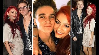 Strictly Come Dancing 2018: Joe Sugg and Dianne Buswell seen arm-in-arm as they hit party