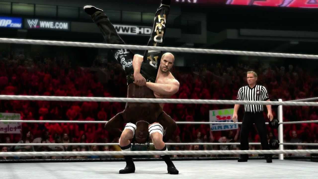 Antonio Cesaro Hits His Finisher In WWE '13