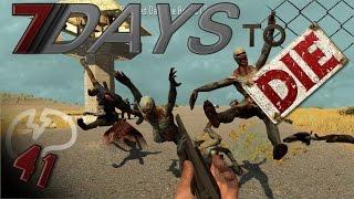 7 Days To Die Mindcrack Server - Insane Zombie Horde Invasion! #41 | Docm77
