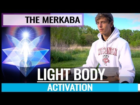 The Merkaba - How To FULL LIGHT BODY ACTIVATION (Psychic Energy Healing MEDITATION TECHNIQUES)