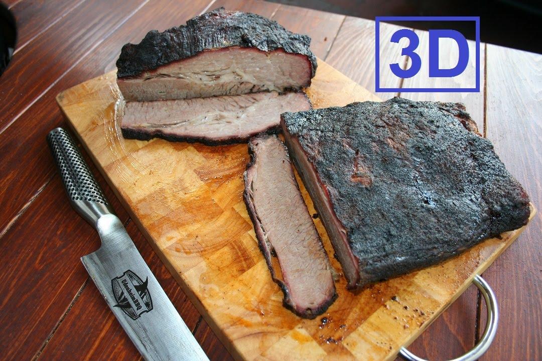 Perfektes Beef Brisket vom Limousin Rind (3D Version) - YouTube