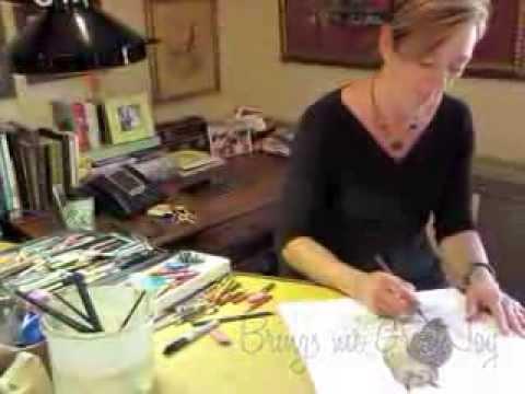 LANG October Artist of the Month Susan Winget