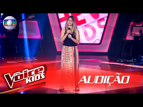 Denise Salvi canta 'One and Only' na Audição –  The Voice Kids Brasil | 2ª Temporada
