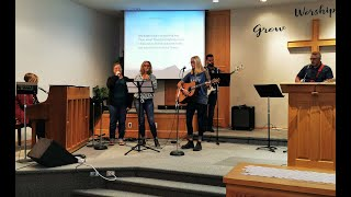 Sunday, Oct.4 Worship service