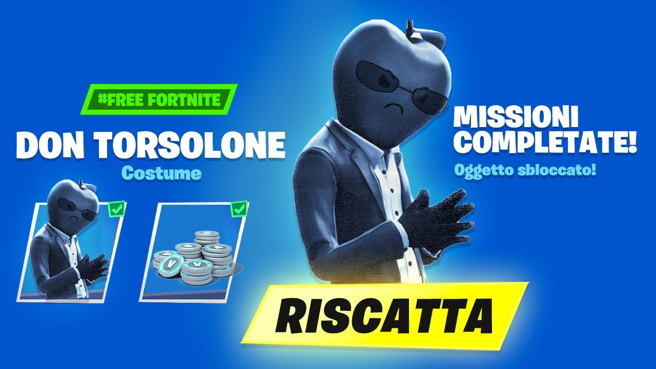 Ho SBLOCCATO la *NUOVA* Skin FORTNITE contro APPLE! Don Torsolone! Fortnite ITA!