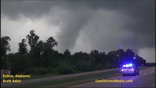 8-31-17 Eoline, Alabama Large Tornado