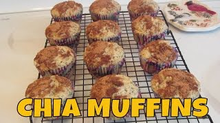 Chia Seed Muffins ~ Gluten Free