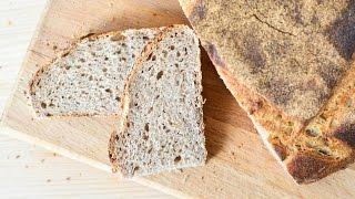Хлеб на ржаной закваске ☆ Силезский хлеб