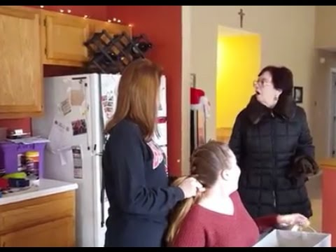 Mom surprised by son after 18 years