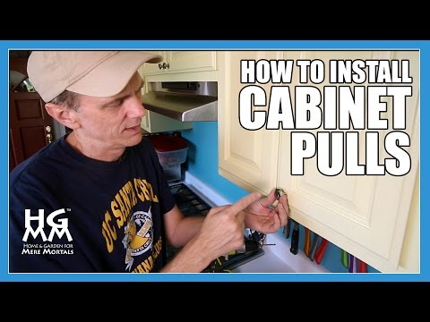 How to install drawer and cabinet pulls to update your kitchen