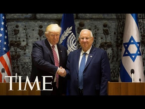 President Donald Trump Gives Remarks With Israeli President Reuven Rivlin | TIME
