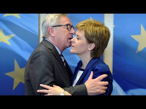 Nicola Sturgeon promotes Scotland's interests in EU post-Brexit