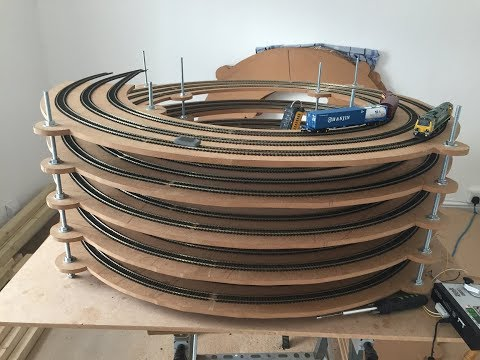 Building a Model Railway #2 – Helixes