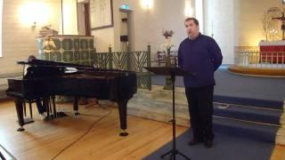Elias Blix, Gud signe vårt dyre fedreland, Sang: Kristian Krokslett.MP4