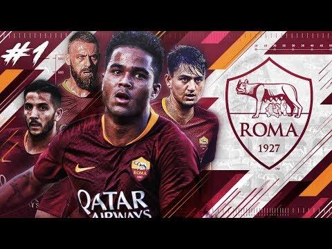 FIFA 18 AS ROMA CAREER MODE #1 - 100 MILLION EUROS TO REBUILD ROMA!