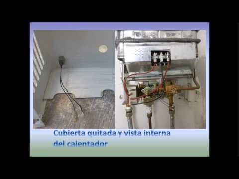Calentadores solares limpiar calentador de gas butano - Calentadores de agua butano ...