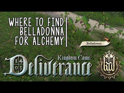 Kingdom Come: Deliverance  Where To Find Belladonna Growing