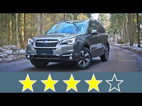 Subaru Forester 2016 Жесткость кузова