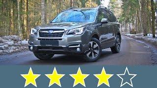 Subaru Forester 2016 Жесткость кузова смотреть