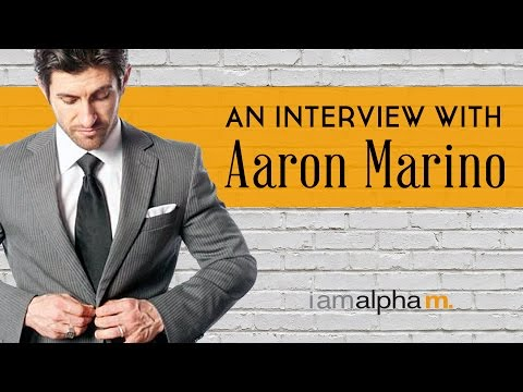 AlphaM Interview with Aaron Marino | His Story, Vision & Things You Did Not Know About Him