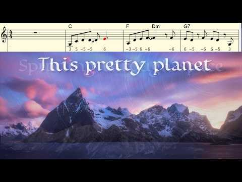 This Pretty Planet With Chromatic Harmonica Tabs