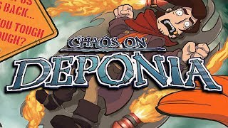 Chaos on Deponia – Game Movie (All Cutscenes / Story Walkthrough) 1080p HD