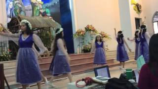 """Múa """" Khi Chúa vào đời"""" - Thiếu Nhi HTTL Vĩnh Phước"""