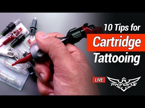 10 Tips for Cartridge Tattooing