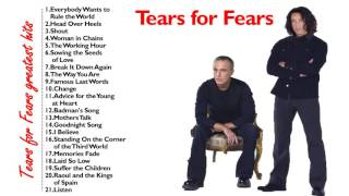 Tears for Fears greatest hits - Tears for Fears Collections Full Ne...