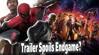 Spider-Man Far From Home Trailer SPOILS Avengers Endgame? Breakdown & News!