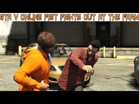 Watch fist fights seems