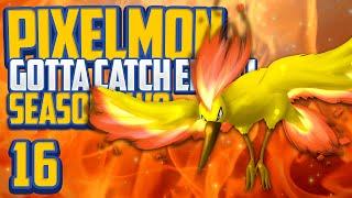"Minecraft Pixelmon ""MOLTRES!"" Gotta Catch 'Em All S2 Ep 16 (Minecraft Pokemon Mod)"
